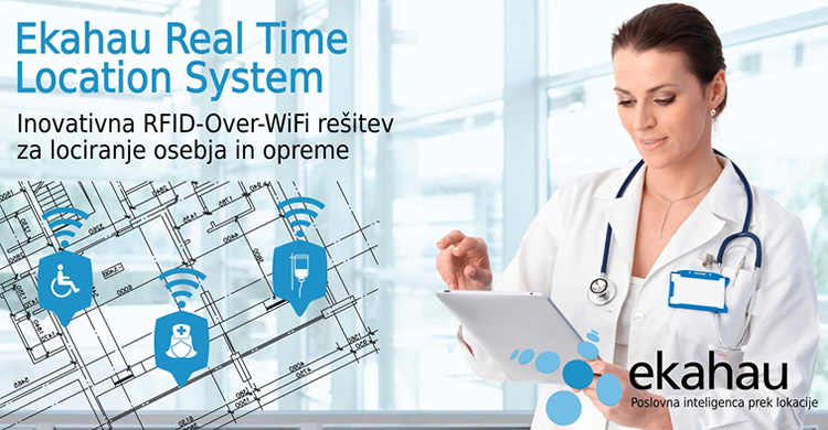 Ekahau | RTLS - Real Time Location System - poslovna inteligenca prek lokacije
