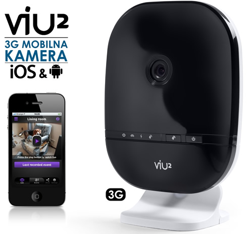 Option | VIU2 - Plug&Play 3G mobilna kamera za iOS in Android naprave