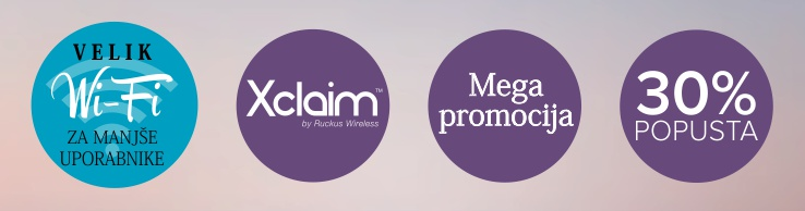 Xclaim Wireless | Mega Promocija