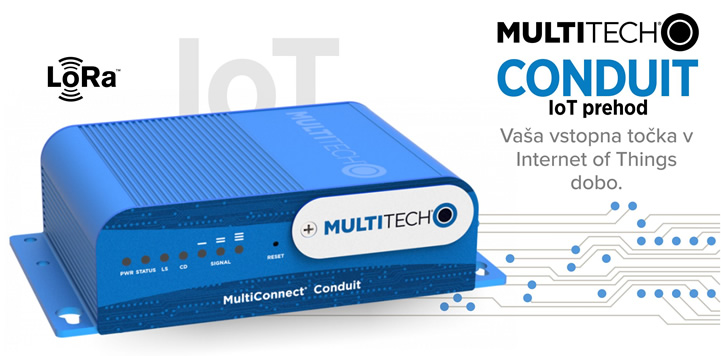 MultiTech | MultiConnect Conduit - IoT prehod