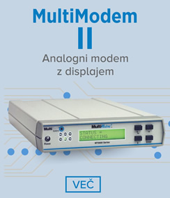MultiTech MultiModem II - analogni modem z displajem