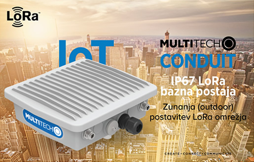 MultiTech | MultiConnect Conduit IP67 LoRa bazna postaja