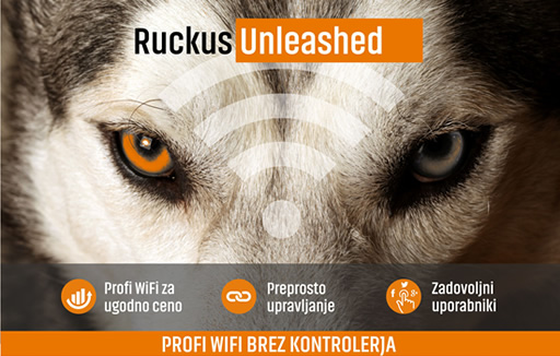 Ruckus Unleashed - Profi WiFi brez kontrolerja