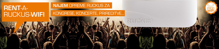 Ruckus Wireless | Rent-a-Ruckus-WiFi - najem WLAN omrežja Ruckus