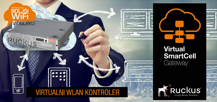 Ruckus Wireless | Virtual SCG - virtualni WLAN kontroler