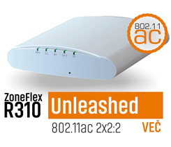 ZoneFlex R310 Unleashed